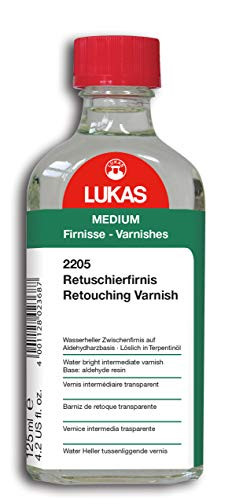 LUKAS Malmittel - Retuschierfirnis in 125 ml