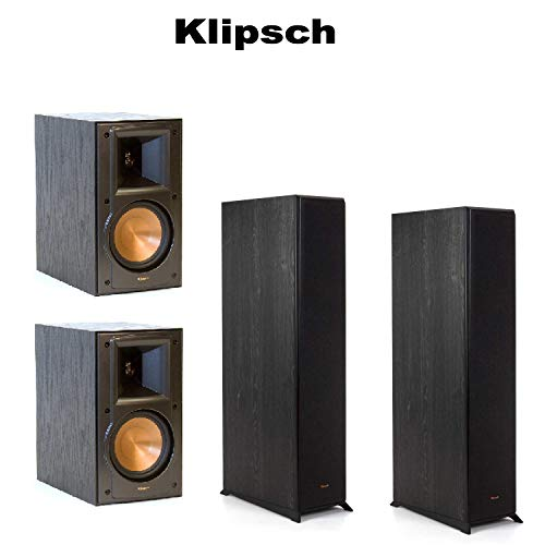 Best Deals! Pair of Klipsch RP-4000F Reference Premiere Floorstanding Speaker - Each (Ebony) Klipsch...