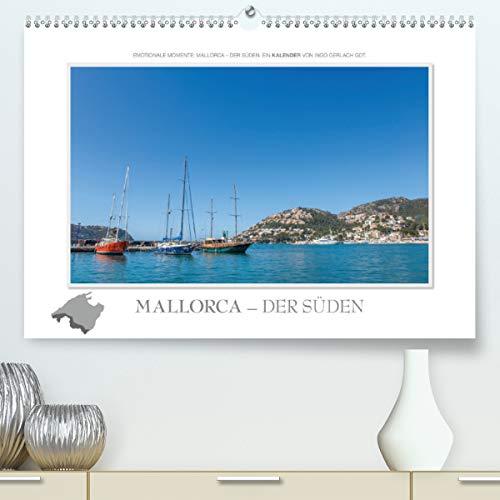 Emotionale Momente: Mallorca - der Süden. (Premium, hochwertiger DIN A2 Wandkalender 2021, Kunstdruck in Hochglanz)