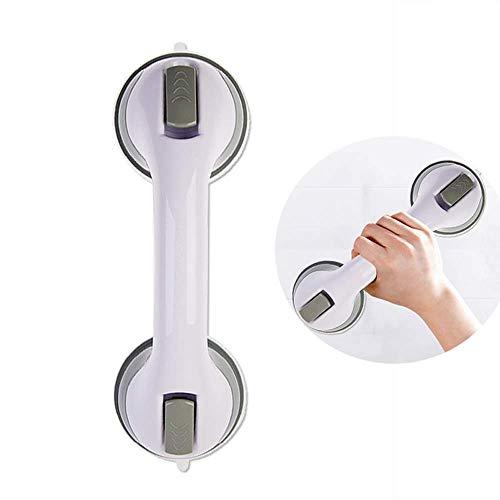 Zuignap Grab Bar Anti-drop Veiligheid Badkamer Handrail - Tool-free Installatie Kunststof Badkuip Armleuningen - Gemakkelijk te verwijderen Balans Handvat voor Oude Mensen Vrouwen
