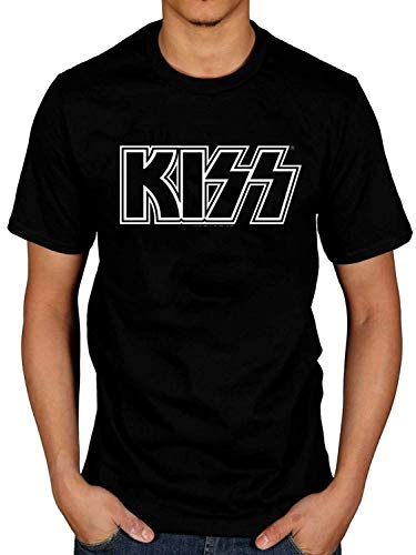 Kiss Logo Band Retro Rock Indie Pop Punk T-Shirt