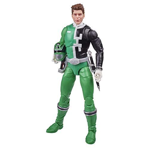 Power Rangers Lightning Collection S.P.D. Green Ranger - Figura de acción coleccionable (15,2 cm)