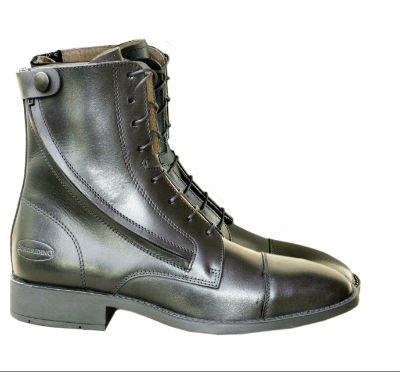 Euroriding Jodphur Birmingham mit Sidezip, Farbe: schwarz, Große: 41