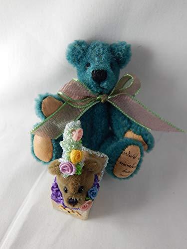 "World of Miniature Bears 3"" Mohair Bear Jack"