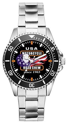 KIESENBERG Uhr - Geschenke für Motorrad Biker Fans 2320