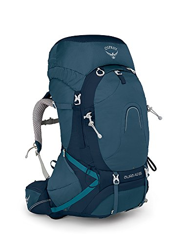 Osprey Packs Damen Rucksack Aura AG 65, Unisex-Erwachsene, Challenger Blue, X-Small
