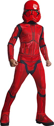 Generique - Sith Trooper-Star Wars-Kostüm für Kinder Lizenz-Verkleidung rot 122/140 (8-10 Jahre)