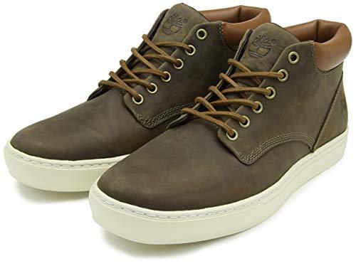 Timberland Adventure 2.0 Cupsole Chukka, Sneakers Alte Uomo, Verde Dark Olive, 43 EU