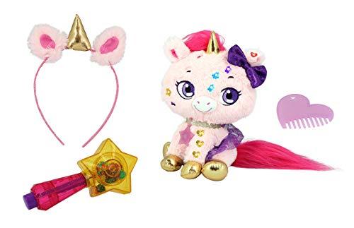Shimmer Stars, Einhorn, Plüsch, Kinder, wiederverwendbar, Haarschmuck, Rosa, 4 Jahre