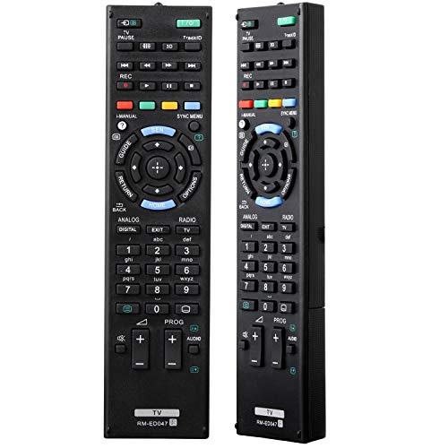 Universal-Fernbedienung für Sony Bravia Smart LCD LED 3D TV Fernbedienung RM-ED047, kompatibel mit allen Sony TV-Fernbedienungen