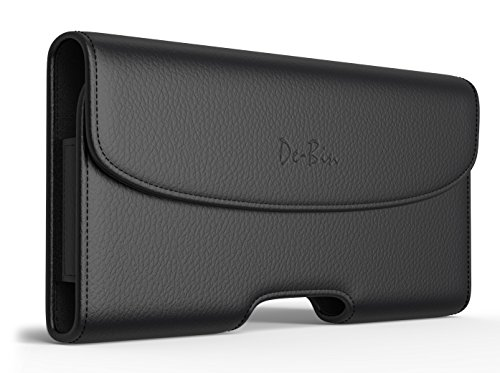 iPhone 6s 6 7 Holster, Debin Classic Apple iPhone 6 6s 6 S Belt Clip Case with Loops Leather Belt Pouch Holster Cover (XL Size Fits iPhone 6s Otterbox/Lifeproof/Hybrid Case On)