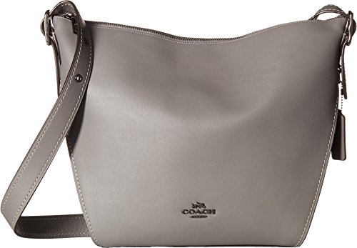 COACH Dufflette in Natural Calf Leather Dk/Heather Grey One Size