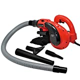 Toolman Corded Electric Compact Leaf Sweeper Vacuum Blower 6 Speed 1200W 10A Perfect with Household DB2505