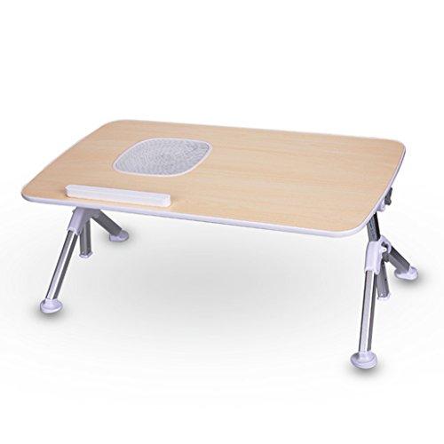 Table d'ordinateur portable multifonctionnel Lit avec petite table pliante Grand dortoir Lounger Bureau (Size : B.)
