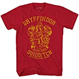 Harry Potter Gryffindor Slytherin Ravenclaw Hufflepuff Quidditch Team Boys Youth T-Shirt(Gryffindor,5/6)