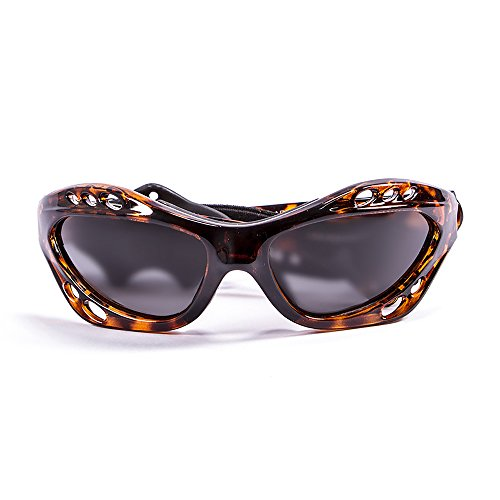 Ocean Sunglasses - Cumbuco - lunettes de soleil polarisées - Monture : Marron - Verres : Fumée (15000.2)