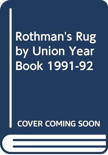 Rothman's Rugby Union Year Book 1991-92