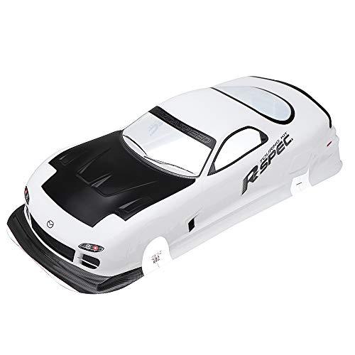 LaDicha Caja De Embalaje 1/10 RC Carrocería Coche Shell para Mazda RX-7 Tamiya En Carretera Drift Car Kit
