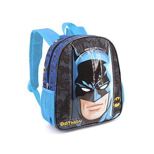 Karactermania Batman Knight-Basic Backpack Kinder-Rucksack, 40 cm, 18.2 liters, Mehrfarbig (Multicolour)