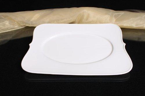 Teller Servierteller Servierplatten Porzellan Weiß Gastronomiebedarf Ø34/25,5