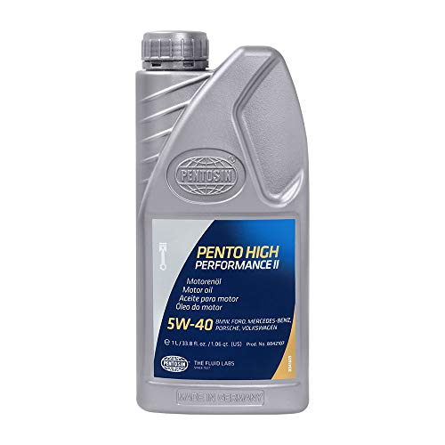 Pentosin 8042107 Pento High Performance II 5W-40 Synthetic Motor Oil - 1 Liter