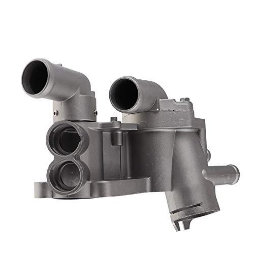 LinYom Montaje de Aluminio enfriamiento de la Cubierta del termostato de enfriamiento del Motor/Ajuste para - VW/FIT para - Polo/Ajuste para - Seat/Ajuste para - Ibiza/Ajuste para - Skoda/FIT FOR