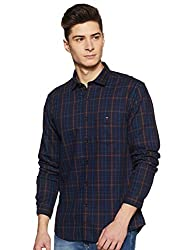LP Louis Philippe Mens Checkered Slim fit Casual Shirt
