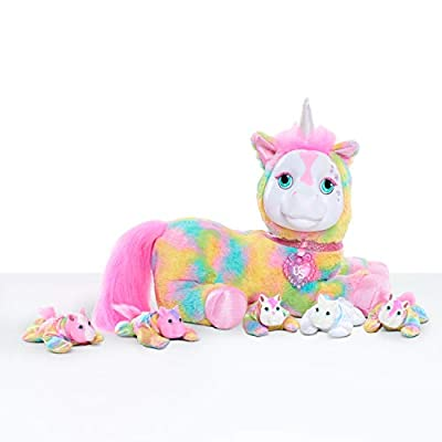 Puppy Surprise Unicorn Surprise Plush - Crystal, Multi-Color from Just Play