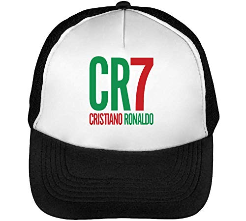 CR7 Cristiano Ronaldo Gorras Hombre Snapback Beisbol Negro...
