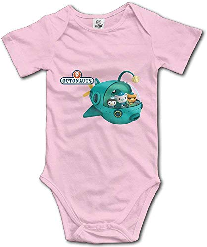 WlQshop Oktonauten Unisex Kurzarm Bodysuit Strampler Jumpsuit Outfits für Baby Gr. 12 Monate, mehrfarbig