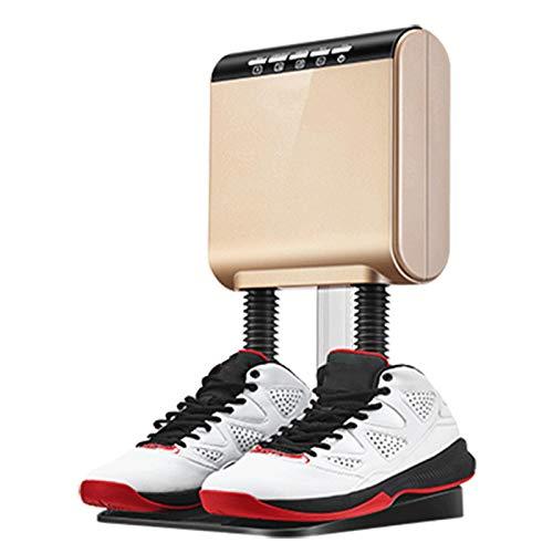 Shoe Dryer, Boot Scaldino Elettrico Essiccatori con Il Calore Del Temporizzatore Ventilatore Asciuga Scarponi Bagnati Scarpe Essiccazione e Portatile Veloce Riscaldamento, Sterilizzazione Scarpa
