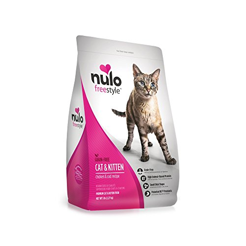 Nulo Adult & Kitten Grain Free Dry Cat Food With Bc30 Probiotic...