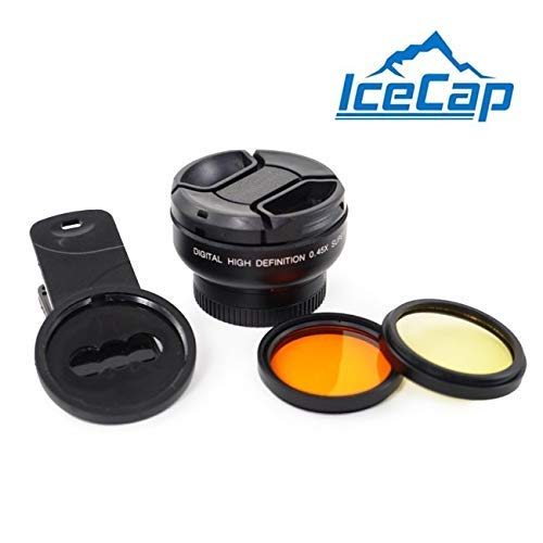Stackable Clip-on Multi-Lens Kit for Mobile - IceCap