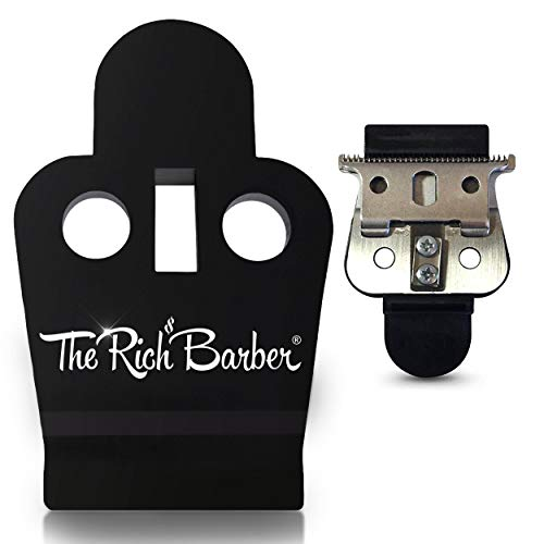 Price comparison product image The Rich Barber On The Money 10 Second Blade Setter / Zero Gap Tool for Sharper Lines,  Cleaner Fades & Precision Detail / Full Precision Shave in Seconds (Compatible with Andis Outliners