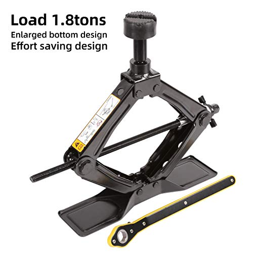 top 10 scissor jack The LEAD BRAND scissor jack is fast and economical, weighs 1.8 tonnes (3968 lbs) and has a maximum height of …