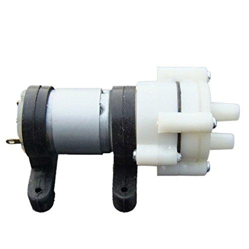 busirde DC6-12V R385 DC Pompe à Membrane Les Poissons d'aquarium Réservoir d'eau Refroidi Outils Diaphragme Eau Pompe à air