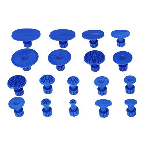 IJeilo 18st Blauw Dent Puller Tabs Verf Reparatie Gereedschap Auto benodigdheden