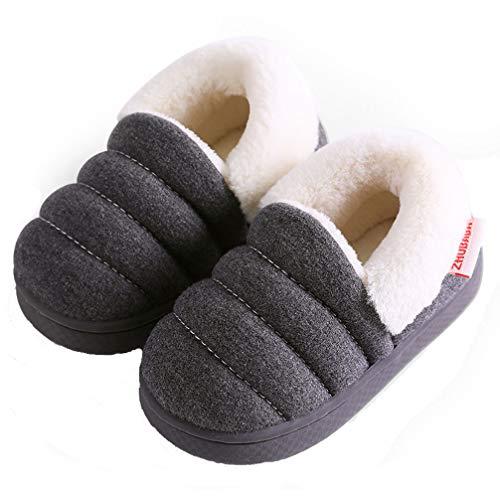 Zapatillas de Estar por Casa para Niñas Niños Otoño Invierno Zapatillas Interior Suave...