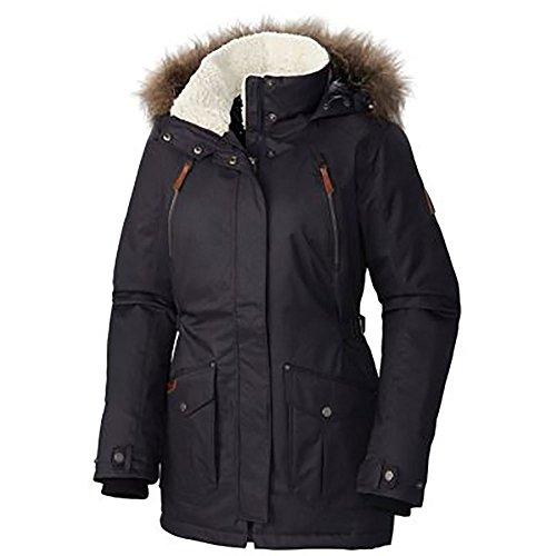Columbia Women's Plus Size Barlow Pass 550 TurboDown Jacket, Black, 1X