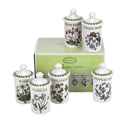 Juego de 6 tarros de especias para jardines BOTANIC BG78824-XP