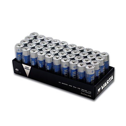 Varta LONGLIFE Power (ehemals High Energy) AA/Mignon/LR06 Batterie 10x 4er-Pack LR6