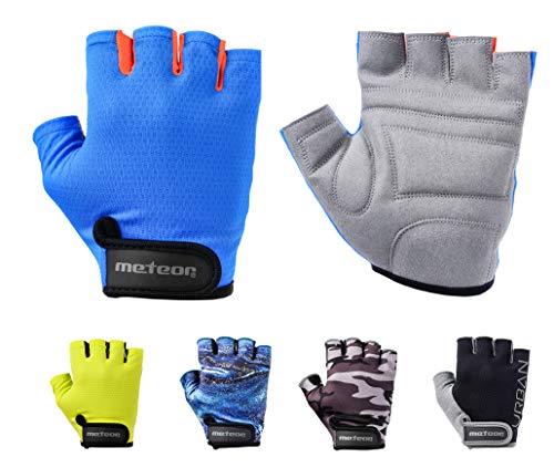 meteor radhandschuhe MTB Handschuhe Herren Gel Green fahrradhandschuhe Mountainbike Handschuhe - Radsport Handschuhe Damen - Rad-Sport-Handschuhe Downhill Wandern Fahrrad Handschuhe