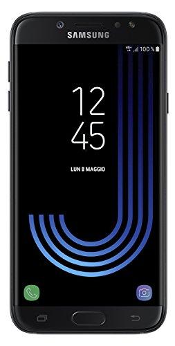 Samsung Galaxy J7 (2017) Smartphone, Black, 16 GB Espandibili, Dual SIM [Versione Italiana]