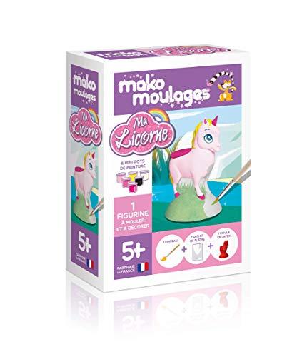 Coffret moulage en plâtre - Ma licorne - Mako moulages - 1 moule