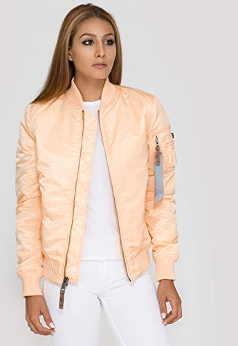 Alpha Industries MA-1 VF 59 Damen Jacke Helles Orange M