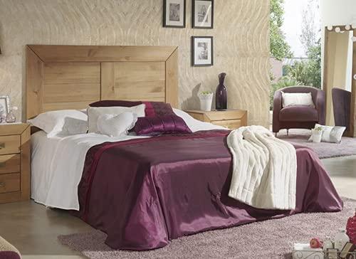 Muebles Deluxe - Cabecero Rústico de Matrimonio'MEXICANO'. Madera de pino maciza para camas de 135 y 150cm