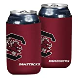 Logo Brands NCAA South Carolina Fighting Gamecocks Flat Coozie, One Size, Team Color
