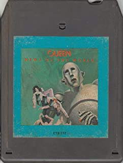 queen news of the world 8 track