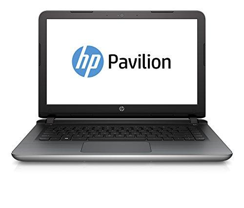 HP Pavilion 15-ab216bg de 39,6 cm (15,6 Pulgadas) portátil (Intel Core i7 5500U, 8 GB DDR3L SDRAM, 500 GB sshd, Tarjeta gráfica Intel HD 5500, FreeDOS 2.0) de Plata