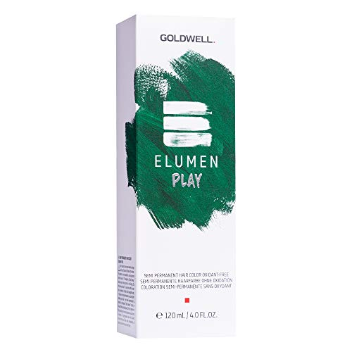 Goldwell Elumen Play Semi-Permanente Haarfarbe Tönung - Grün 120ml